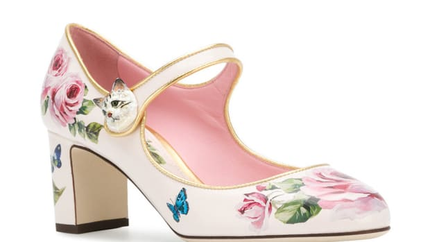 dolce gabbana vally rose pumps