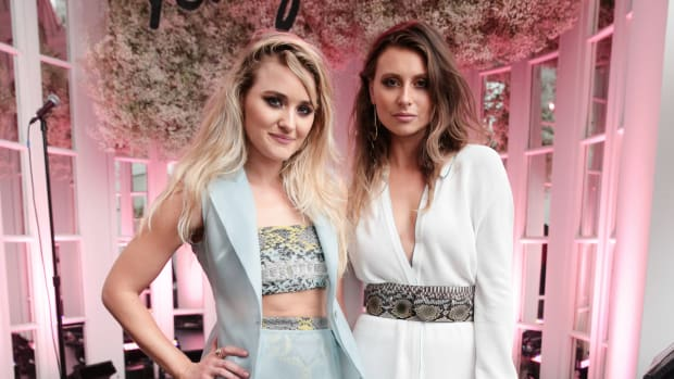 aly and aj ferragamo amo launch