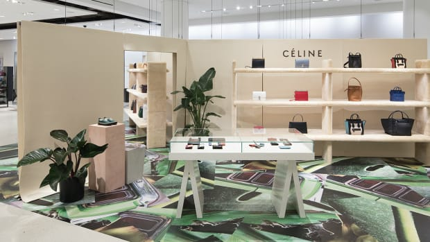003d710233 Must Read: Nordstrom Launches Céline Pop-Up Shop, What's Going on With  Balenciaga's Trippy Spring 2018 Campaign?