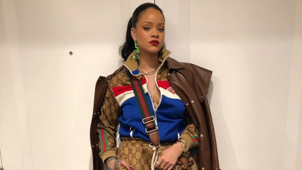 rihanna gucci outfit-