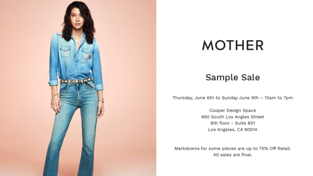 MOTHER_sample sale
