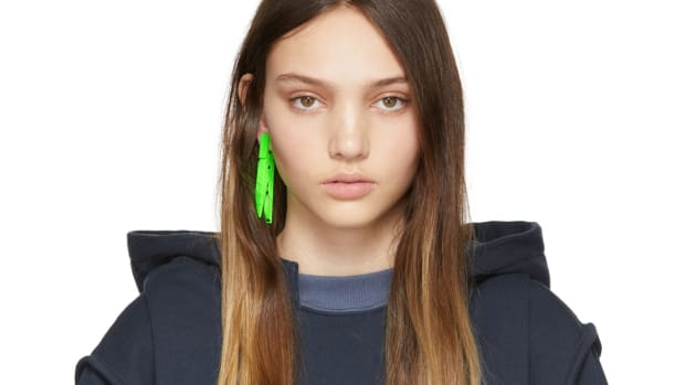ambush clothespin earring