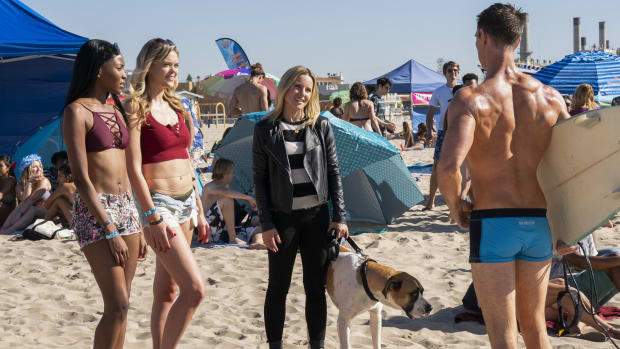 main-veronica-mars-hulu-kristen-bell-veda-leather-jacket-jason-dohring-logan-blue-swim-trunks