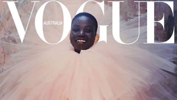 adut akech september 2019 vogue cover