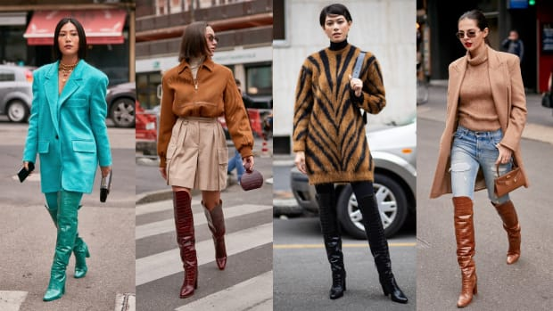 milan fashion week street style day 2 max mara boots