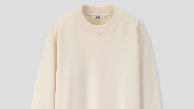 uniqlo u sweatshirt crop
