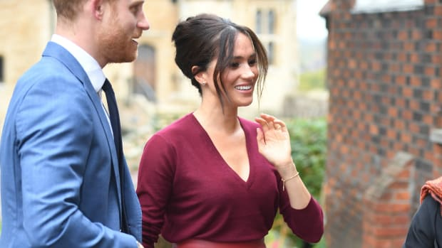 meghan markle wore hugo boss