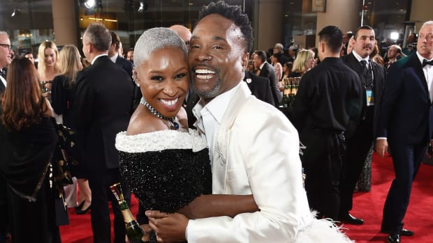 cynthia erivo billy porter golden globes crop