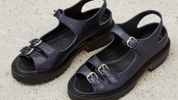 rachel comey adams sandals croc leather