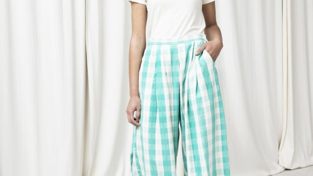 gingham savista pants seek collective
