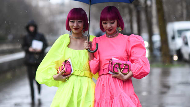 Ami Suzuki and Aya Suzuki Valentino March 1 2020 Paris Fashion Week