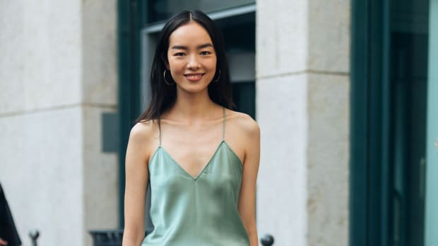 Fei Fei Sun Milan Fashion Week September 2018 Getty Images