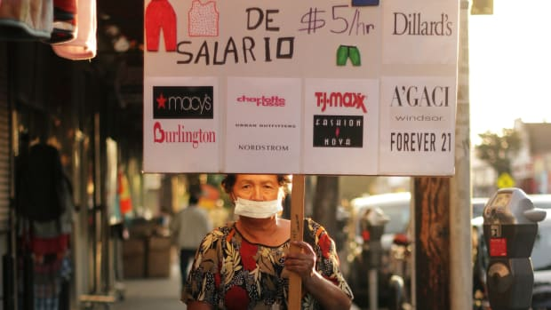 LA Garment worker's rights sustainable fashion