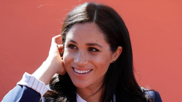 meghan markle red