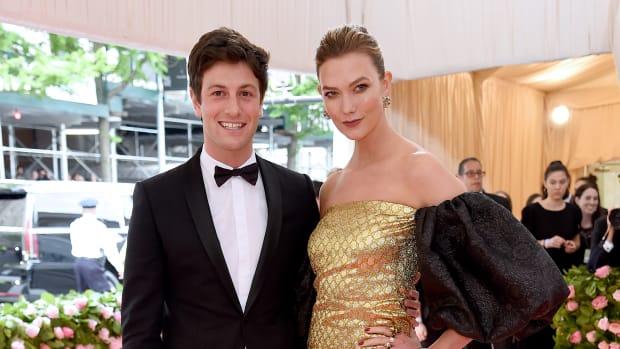 Joshua Kushner and Karlie Klos 2019 Met Gala