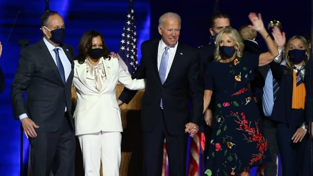 President-Elect Joe Biden And Vice President-Elect Kamala Harris Address The Nation After Election Win 2