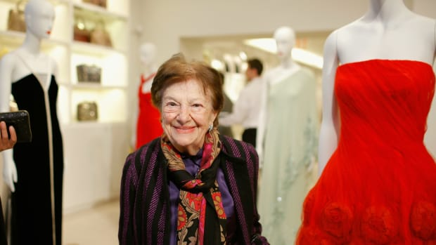 "Ruth Finley at ""100 Unforgettable Dresses"" Book Launch"