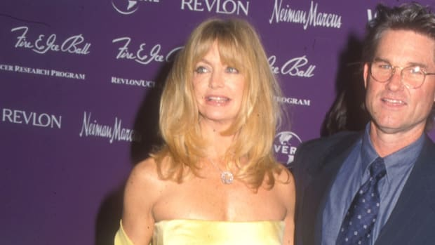 goldie hawn yellow gown fire and ice ball (1)