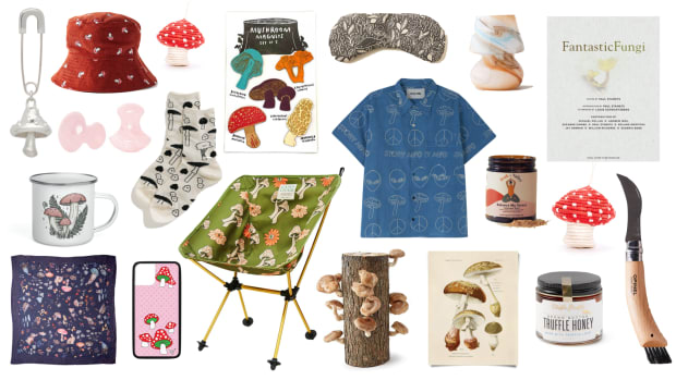 mushroom themed gift guide fashion foraging fungi