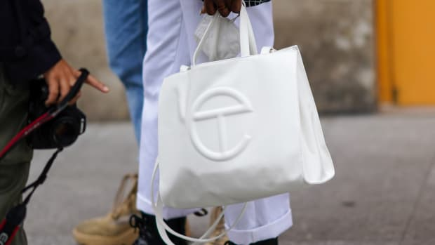 Telfar Bag Paris Fashion Week Edward Berthelot:Getty Images
