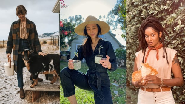 farmer forager homesteader influencer fashion