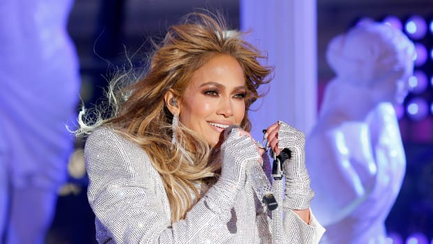 Jennifer Lopez 2021 Times Square New Year's Eve Celebration