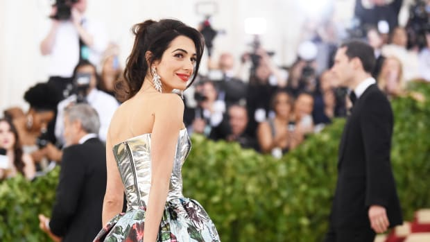 Amal Clooney 2018 Met Gala Close-Up
