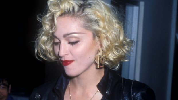 young madonna fashion style