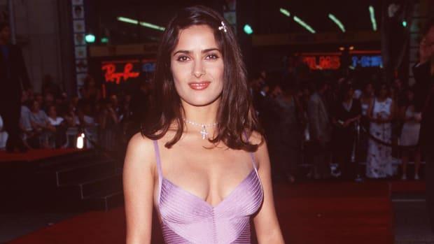 Salma Hayek Lethal Weapon 4 Premiere 1998