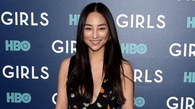 "Greta Lee attends The New York Premiere Of The Sixth & Final Season Of ""Girls"""