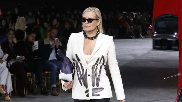 yolanda-hadid-off-white-fall-2020-paris-fashion-week getty images