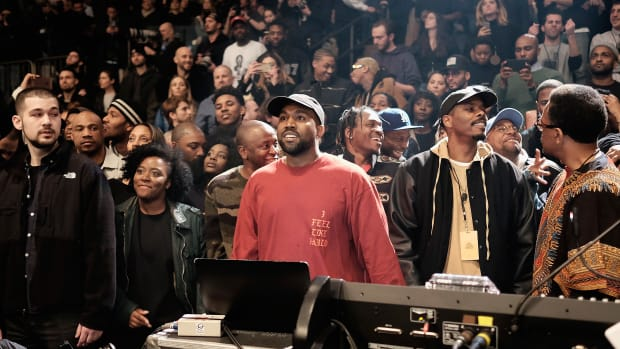 Kanye West Yeezy Season 3 Madison Square Garden Getty Images