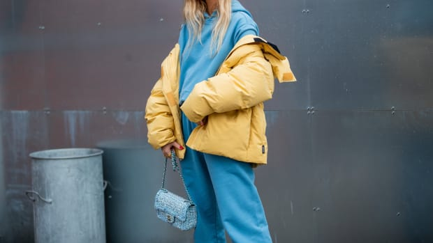Copenhagen Fashion Week Sweatpants Outfit January 29 2020