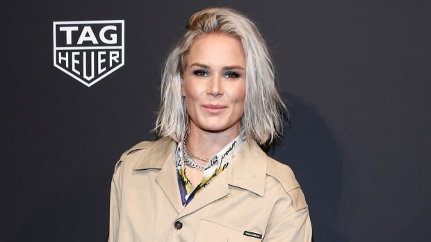Ashlyn Harris Tag Heuer Connected NYC Event 2020 Getty Images