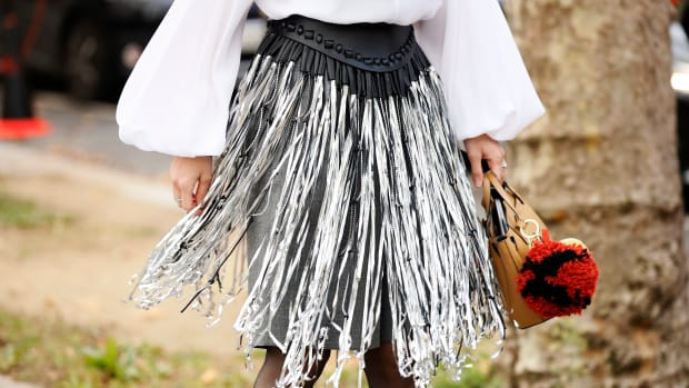 fringe-skirt-paris-fashion-week-street-style-september-2019-getty-images