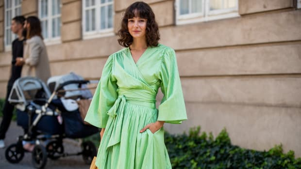 Alyssa Coscarelli Copenhagen Fashion Week Spring 2020 Street Style Getty Images
