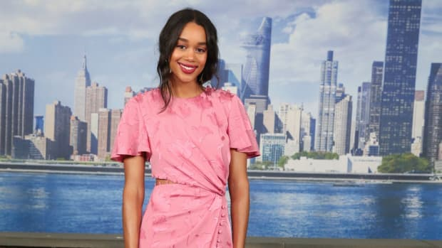 laura harrier prabal gurung spiderman (1)
