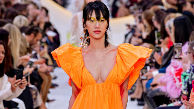 Valentino Spring 2020 Orange Gown