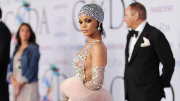 Rihanna Adam Selman CFDA Awards 2014 LEDE