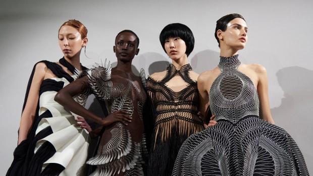 Iris Van Herpen Haute Couture Spring 2020 Backstage