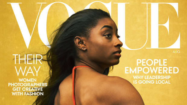 Simone Biles Vogue US August 2020