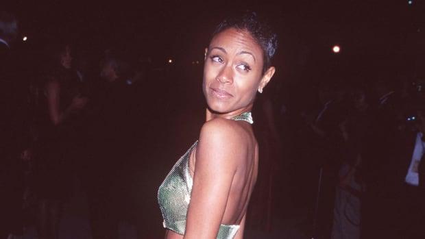 Jada Pinkett Smith during 1997 Vanity Fair Oscar Party