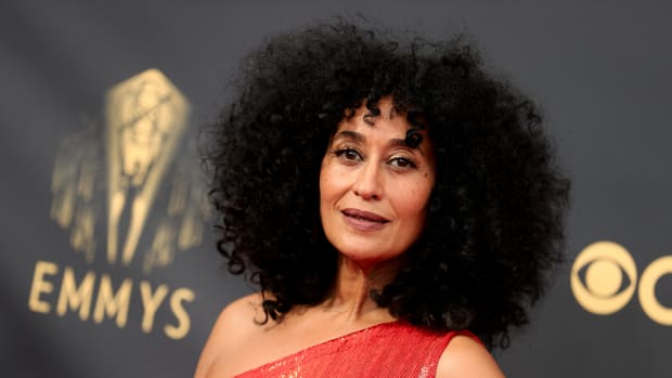 Tracee Ellis Ross attends the 73rd Primetime Emmy Awards at L.A. LIVE on September 19, 2021