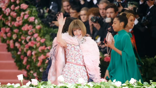 Anna Wintour attends The 2019 Met Gala Celebrating Camp Notes on Fashion
