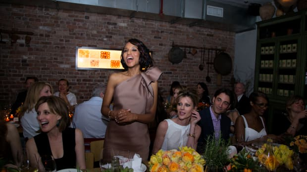 Kerry Washington attends ELLE & Tod's Celebrate Kerry Washington at Il Buco Alimentari & Vineria on May 15, 2013