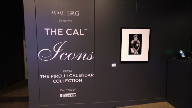 View of Pirelli Calendar Collection during New York Fashion Week on February 12, 2016