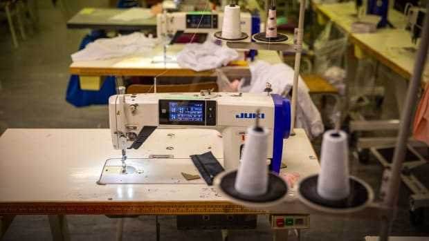 sewing-machine-clothing-factory