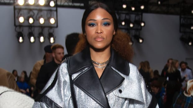 Eve attends 'JW Anderson' fashion show during London Fashion Week February 2020