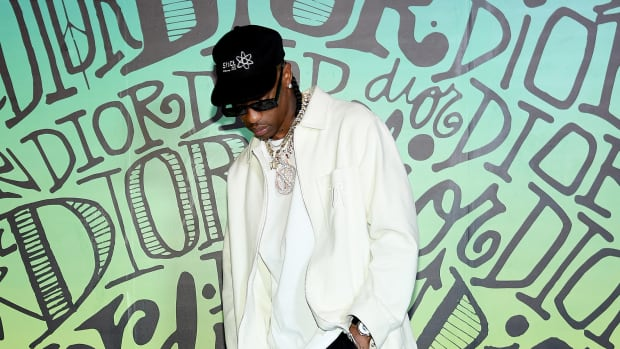 Travis Scott attends the Dior Men's Fall 2020 Runway Show on December 03, 2019 in Miami, Florida