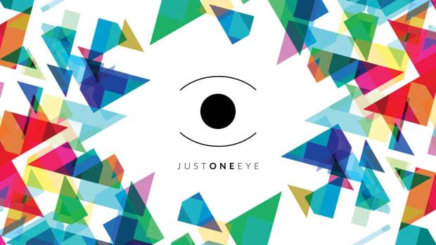 just one eye logo